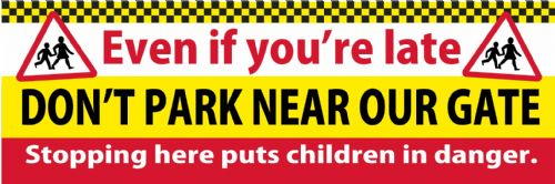 Road Safety Banner - Template 4